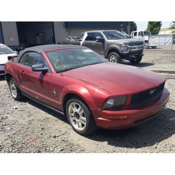 2007 Ford Mustang Convertible for sale 101385489