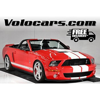 2007 Ford Mustang Shelby GT500 Convertible for sale 101422125