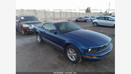 2007 Ford Mustang Convertible for sale 101437003