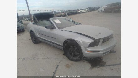 2007 Ford Mustang Convertible for sale 101437178