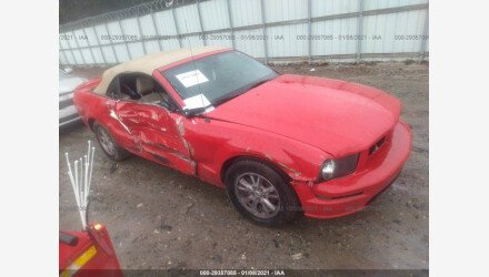 2007 Ford Mustang Convertible for sale 101437180