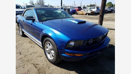 2007 Ford Mustang Convertible for sale 101468083