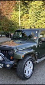 2007 Jeep Wrangler 4WD Unlimited Sahara for sale 101235422