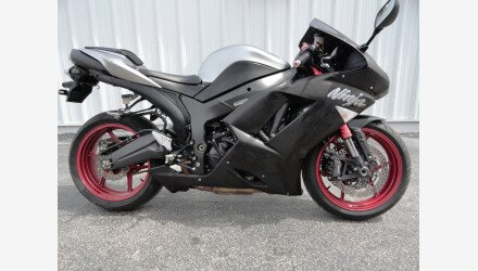 2007 Kawasaki Ninja ZX-6R for sale 200621366