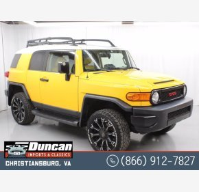 2007 Toyota FJ Cruiser 4WD for sale 101485217