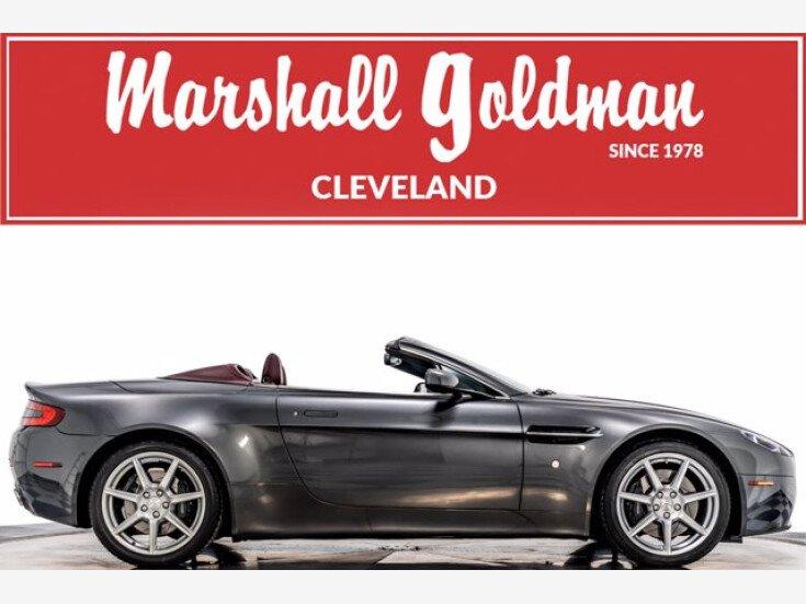 2008 Aston Martin V8 Vantage Roadster For Sale Near Cleveland Ohio 44128 Classics On Autotrader