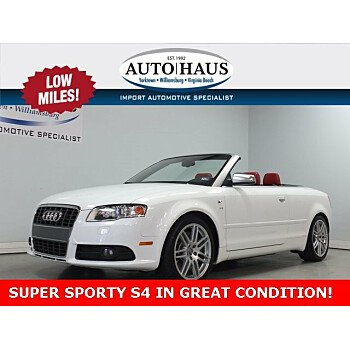 2008 Audi S4 Cabriolet for sale 101179308