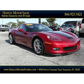 2008 Chevrolet Corvette Z06 Coupe for sale 101062611
