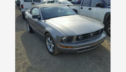 2008 Ford Mustang Convertible for sale 101127653