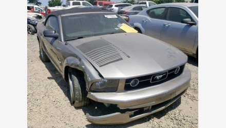 2008 Ford Mustang Convertible for sale 101225020
