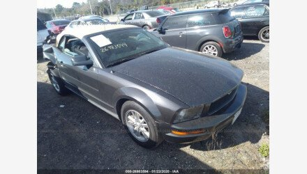 2008 Ford Mustang Convertible for sale 101341678