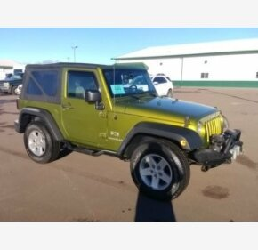 2008 Jeep Wrangler 4WD X for sale 101068234