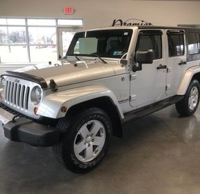 2008 Jeep Wrangler 4WD Unlimited Sahara for sale 101074643