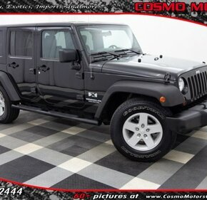 2008 Jeep Wrangler 2WD Unlimited X for sale 101093211