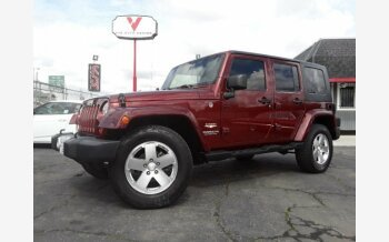 2008 Jeep Wrangler 4WD Unlimited Sahara for sale 101096598
