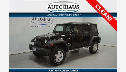 2008 Jeep Wrangler 4WD Unlimited X for sale 101207098