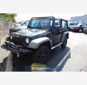 2008 Jeep Wrangler 4WD X for sale 101307129