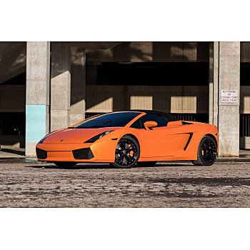 2008 Lamborghini Gallardo Spyder for sale 101318351