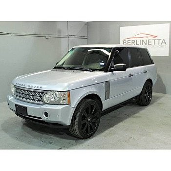 2008 Land Rover Range Rover Supercharged for sale 101041275
