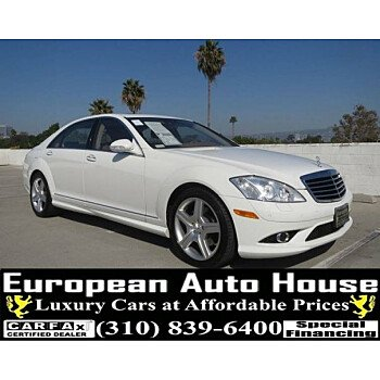2008 Mercedes-Benz S550 for sale 101223000