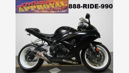2008 Suzuki GSX-R600 for sale 200710091