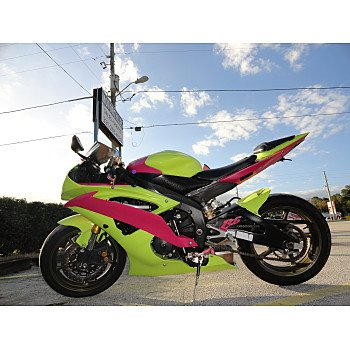 2008 Yamaha YZF-R6 for sale 200400847