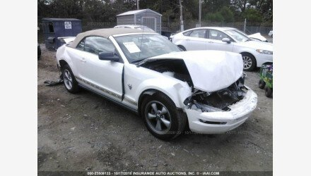 2009 Ford Mustang Convertible for sale 101125806