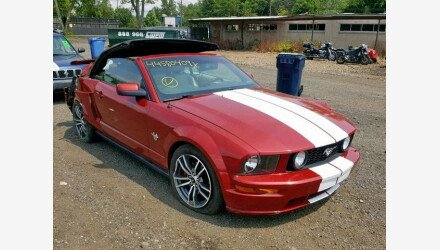 2009 Ford Mustang Convertible for sale 101224975