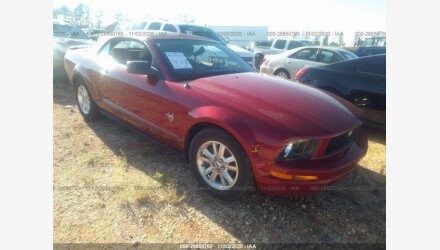 2009 Ford Mustang Convertible for sale 101417151