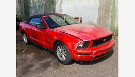 2009 Ford Mustang Convertible for sale 101461580