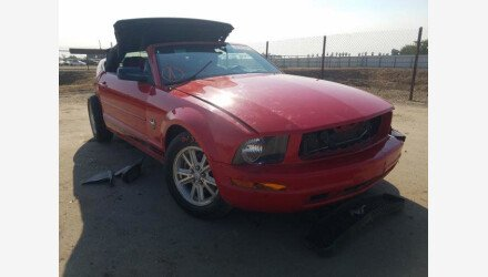 2009 Ford Mustang Convertible for sale 101461625