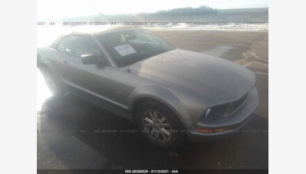 2009 Ford Mustang Convertible for sale 101464827