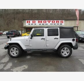 2009 Jeep Wrangler 4WD Unlimited Sahara for sale 101184470