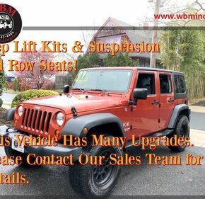 2009 Jeep Wrangler 4WD Unlimited X for sale 101341150