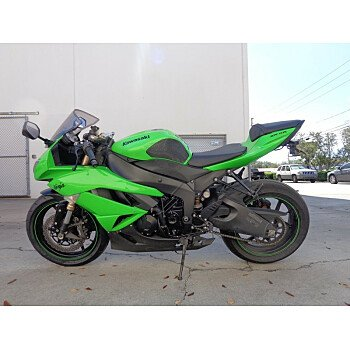 2009 Kawasaki Ninja ZX-6R for sale 200600384
