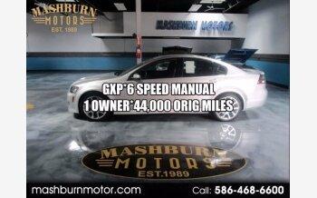 2009 Pontiac G8 GXP for sale 101359102
