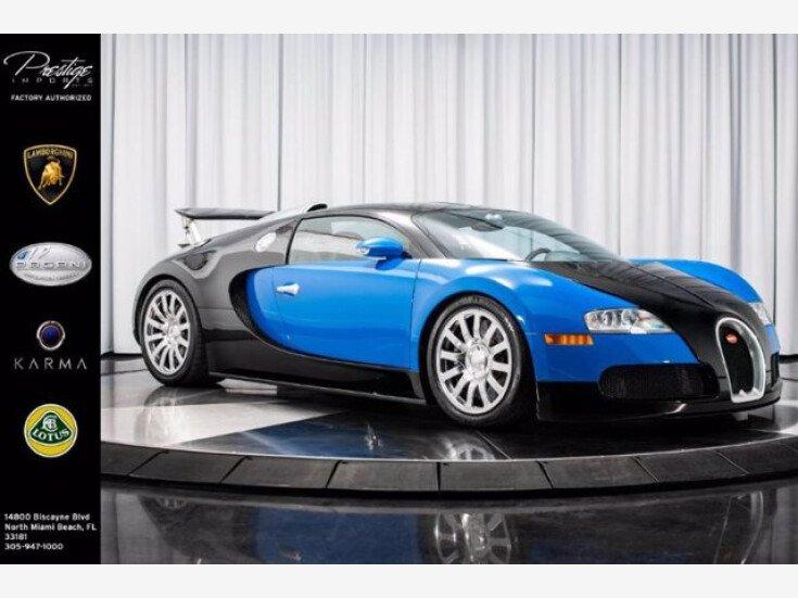 2010 Bugatti Veyron for sale near North Miami, Florida 33181 - Classics on Autotrader