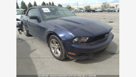 2010 Ford Mustang Convertible for sale 101124796