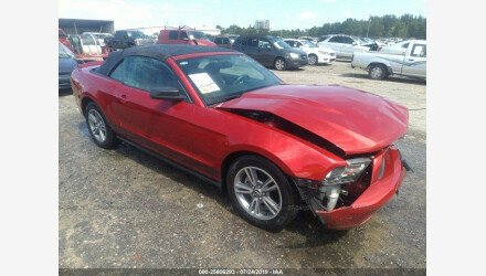2010 Ford Mustang Convertible for sale 101194474