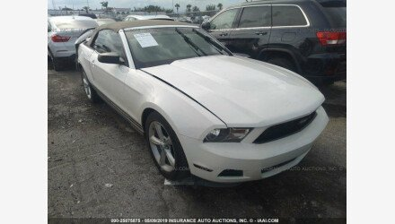 2010 Ford Mustang Convertible for sale 101206109