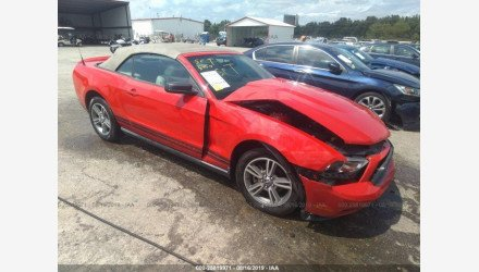 2010 Ford Mustang Convertible for sale 101209168