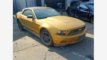 2010 Ford Mustang Convertible for sale 101212200