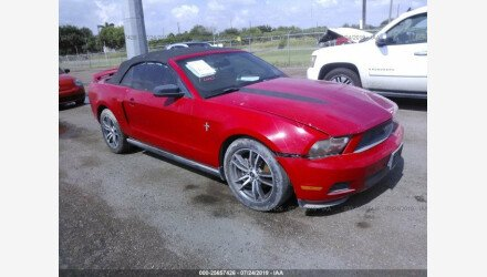 2010 Ford Mustang Convertible for sale 101218720