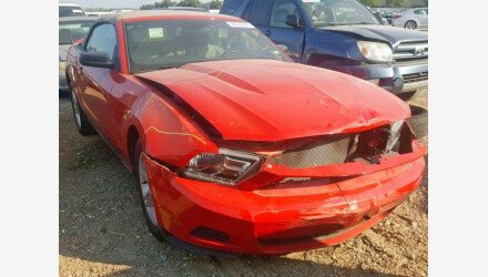 2010 Ford Mustang Convertible for sale 101220202