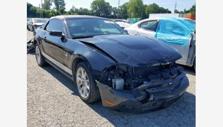 2010 Ford Mustang Convertible for sale 101223856