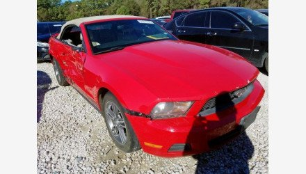 2010 Ford Mustang Convertible for sale 101266051
