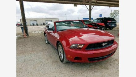 2010 Ford Mustang Convertible for sale 101271046