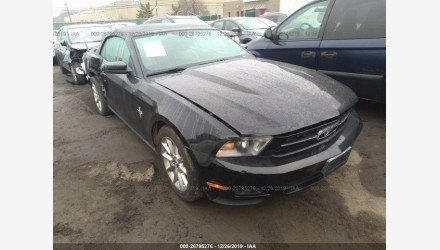 2010 Ford Mustang Convertible for sale 101272092