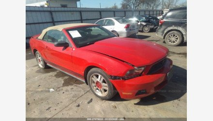 2010 Ford Mustang Convertible for sale 101273924