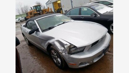 2010 Ford Mustang Convertible for sale 101287010